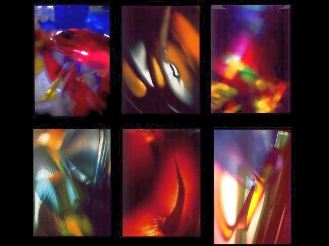 Abstract Expressionism of Colour Photography